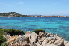 La Maddalena Royalty Free Stock Photography