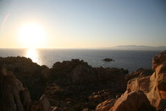La Maddalena, Sardegna Stockbild