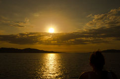 La maddalena. Sardegna mare costa smeralda la maddalena royalty free stock photo