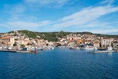 La Maddalena, Sardinia, Italy. La Maddalena village in La Maddalena island, Sardinia, Italy Royalty Free Stock Photography