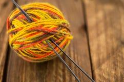 La madeja del hilo colorido Fotografía de archivo