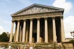 La Madeleine Church Paris Stock Photography