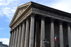 La Madeleine Church in Paris, France Royalty Free Stock Image