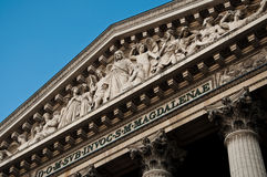 La madeleine church in Paris Stock Photography