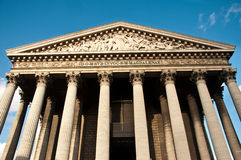 La madeleine church in Paris Royalty Free Stock Photos