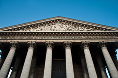 La madeleine church in Paris Stock Photos