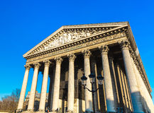 La Madeleine Church in Paris, France Royalty Free Stock Photo
