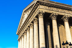 La Madeleine Church in Paris, France Stock Photography