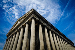 La Madeleine Church in Paris, France Royalty Free Stock Photography