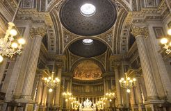 La Madeleine church, Paris, France Stock Images