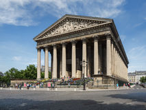 La Madeleine church. Paris Royalty Free Stock Images