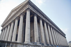 La Madeleine, church in Paris, France. Royalty Free Stock Photography