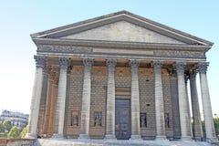 La Madeleine Church in Paris, France Royalty Free Stock Image