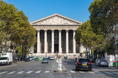 La Madeleine church in Paris Royalty Free Stock Images
