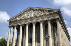 La Madeleine church. Paris, France Royalty Free Stock Photography
