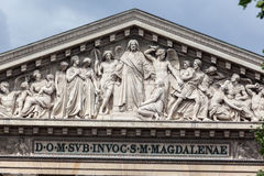 La Madeleine Church Paris Royalty Free Stock Images