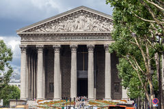 La Madeleine Church Paris Stock Photography