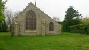 La Madeleine e a igreja Foto de Stock Royalty Free