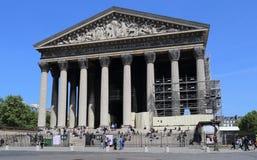 La Madeleine a Parigi, Francia Immagini Stock Libere da Diritti