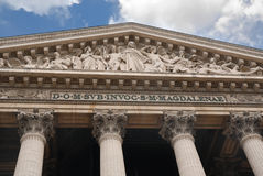 La Madeleine, Paris Royalty Free Stock Photography