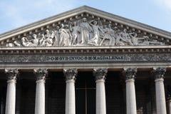 La Madeleine Paris da igreja Foto de Stock Royalty Free