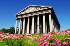La Madeleine Paris France Stock Afbeelding