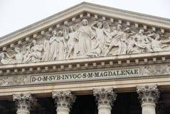 La Madeleine - Paris, Frankreich Lizenzfreie Stockbilder