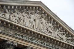 La Madeleine - Paris, Frankreich Lizenzfreies Stockbild