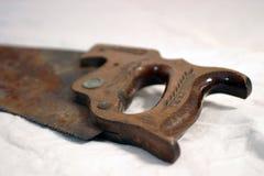 La madera antigua vio Fotos de archivo libres de regalías