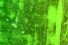 La madera dura vieja verde con los rasguños grandes texturiza - el fondo abstracto lindo de la foto foto de archivo libre de regalías