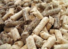 La madera granula el primer Imagenes de archivo