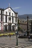 La Madera - Praca fa Municipio a Funchal Immagine Stock Libera da Diritti