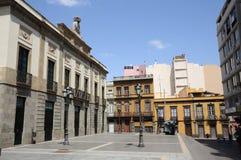 La Madera, Santa Cruz de Tenerife d'Isla de de plaza Photographie stock libre de droits