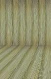 La madera vieja del fondo curvó los arcos interiores de madera del entarimado de madera Imagen de archivo libre de regalías