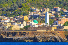 La madraque in Algiers. An overview of Algiers in Algeria royalty free stock photos