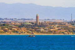 La madraque in Algiers. An overview of Algiers in Algeria stock photo
