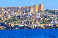 La madraque in Algiers. An overview of Algiers in Algeria stock photos