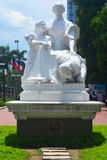 La Madre Filipina The Mother Philippines Monument in Manila, Philippines Stock Photo