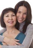 La madre y la hija Fotos de archivo
