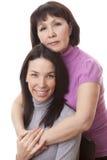 La madre y la hija Imagen de archivo libre de regalías
