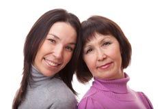 La madre y la hija Fotografía de archivo libre de regalías