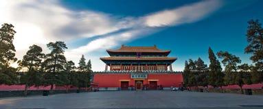 La madrugada del museo del palacio Fotos de archivo
