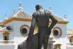 La Maestranza bull ring in Seville. Andalucia. Spain Stock Photos