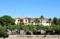 La Maestranza verdadero, Sevilla de Plaza de Toros de Fotos de archivo libres de regalías