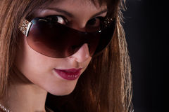 La maggior parte della donna seducente Fotografia Stock