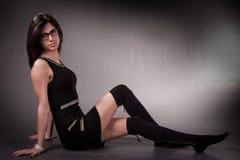 La maggior parte della donna seducente Immagini Stock Libere da Diritti