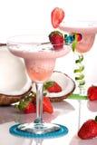 La maggior parte della serie popolare dei cocktail - fragola Colada Fotografie Stock