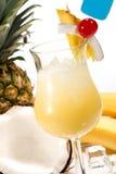 La maggior parte della serie popolare dei cocktail - Pina Colada fotografia stock