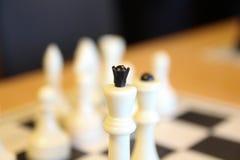 La maggior parte di bei insiemi di scacchi antichi Il bordo è molto elegante fotografia stock libera da diritti