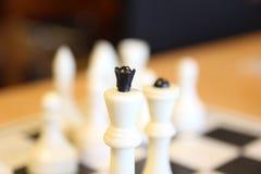 La maggior parte di bei insiemi di scacchi antichi Il bordo è molto elegante immagini stock libere da diritti